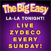 Zydeco Every Sunday at The Big Easy