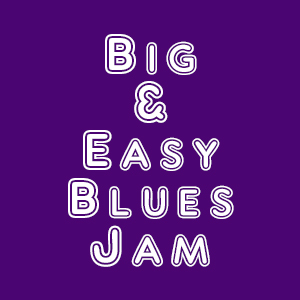 Big and Easy Blues Jam Logo