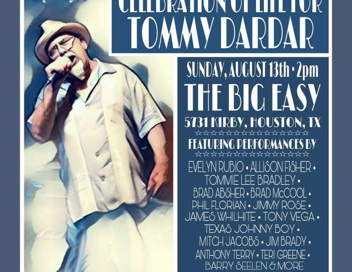 Celebration for Tommy Dardar