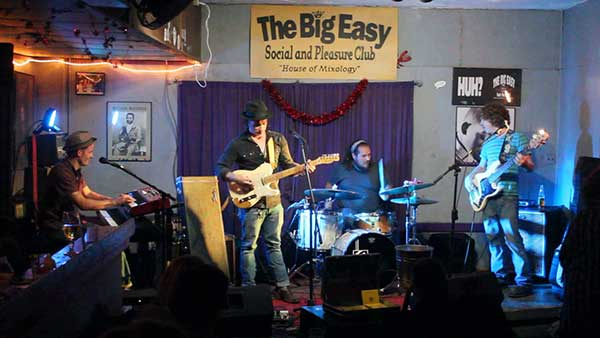 Josh Garrett at The Big Easy