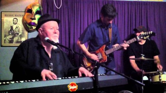 Chris Ruest and Gene Taylor playing at The Big Easy